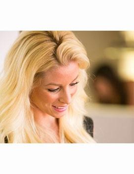 Stephanie-at-hair-salon-newport-beach